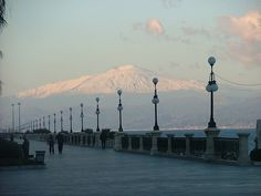 Etna from Reggio Calabria