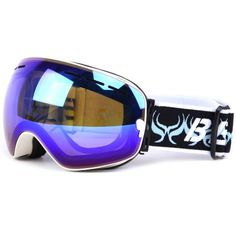New Coming Unisex Winter PC Ski Goggles for Snow Sports Eyewear Anti-fog Safety Protective Fit For Cycling Skating Ski Goggle