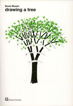 Bruno Munari, Drawing a tree