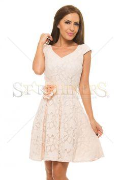 LaDonna Powerful Love Cream Dress