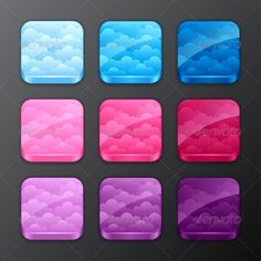 Set of Backgrounds with Clouds #GraphicRiver Zip file contains fully editable EPS10 RGB vector file and high resolution pixels RGB Jpeg image. EPS File made using blends, gradients, transparency. File does not contain foreign objects such as outside assets, brushes, symbols, fonts, images or other resources. Objects in the file are distributed by organized layers. Created: 27March13 GraphicsFilesIncluded: JPGImage #VectorEPS Layered: No MinimumAdobeCSVersion: CS Tags: app #application…