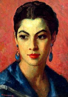Portrait of a Woman - Mischa Ashkenazy