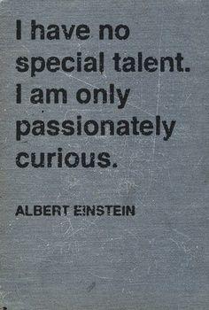 Always curious