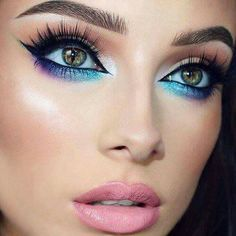 Eye make up for colored eyes