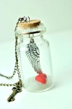 Message in a Bottle Necklace by reva