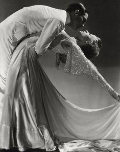 Dance team Jack Holland and June Hart, 1935, Vanity Fair .Photo by Horst P. Horst