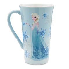 A hot drink in the presence of cool Elsa