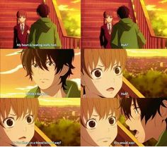 Haru is life xD Tonari no kaibutsu-kun! (My Little Monster) I Love Anime, All Anime, Awesome Anime, Me Me Me Anime, Manga Anime, Shizuku And Haru, Shizuku Mizutani, My Little Monster, Little Monsters