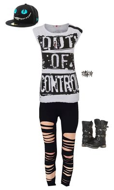 """""""Untitled #545"""" by death-to-your-heart ❤ liked on Polyvore featuring Steve Madden"""