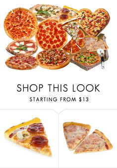 """""""PIZZA!"""" by farrahdyna ❤ liked on Polyvore featuring interior, interiors, interior design, home, home decor, interior decorating, KitchenAid, food, pizza and fourthofjuly"""