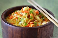 Shrimp & Coconut Soup: YUMMERS!