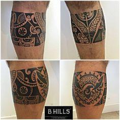 #maorileg #leg #maori #geometric #eagle #ink #tattoo #tattooleg #polinesian #black #blacktattoo #bhillstattoo #Ladyoktopus #tattooartist