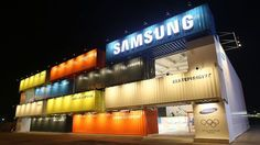 Samsung Electronics - Sochi Container structure.