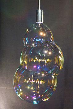 FRONT DESIGN - szivárványos buborék lámpa