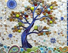 Reserved for Karen from Kiengreen Tree of Life by LAMosaicGifts