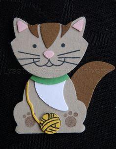 Fox Builder Punch Challenga dag 31: Kat https://www.facebook.com/Lysettes.stampin.universe/