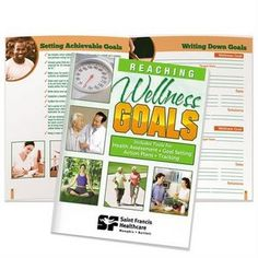 Reaching Wellness Goals Handbook - Personalization Available Cheap Promotional Items, World Yoga Day, Product Offering, Stress Management, Workplace, Budgeting, Health Care, Success, Wellness