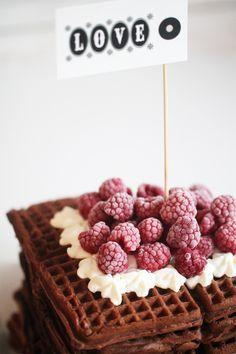 Chai Latte Waffles ♥