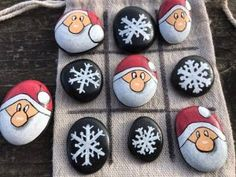 Merrytime Cruise FE Idea // Merrytime Fish Extender // Kids Tic Tac Toe // Travel Game // Toddler Stocking Stuffer // Kids Merrytime FE Idea – Valentine Crafts For Kids Christmas Rock, Christmas Themes, Holiday Crafts, Christmas Decorations, Christmas Ornaments, Xmas, Toddler Stocking Stuffers, Painted Rocks, Hand Painted