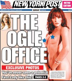 Melania Trump Bares All on the Cover of NY Post