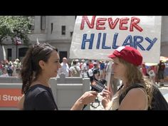 Bernie Supporters Furious at DNC Leaks, Vow #NeverHillary, Consider Third Party Vote Published on Jul 25, 2016 Before Hillary Clinton takes the stage to accept the nomination for president at the Democratic National Convention (DNC) this week in Philadelphia, she must first get Bernie Sanders supporters to unite behind the ticket.