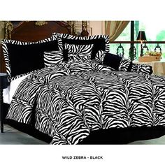 7-Piece Set: Perfectly Printed Comforter Collection - Assorted Styles at 63% Savings off Retail!