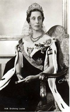 The First Waltz:  Queen Louise of Sweden (formerly Lady Louise Mountbatten, sister of the Earl of Mountbatten, and aunt of Prince Philip, Duke of Edinburgh)