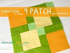 Patchwork en Casa - Patchwork with Love: Vídeo tutorial: bloque 9-patch que desaparece