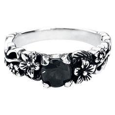 "#Anello ""Black Flower"". l.: 5 mm. (scheduled via http://www.tailwindapp.com?utm_source=pinterest&utm_medium=twpin&utm_content=post8827946&utm_campaign=scheduler_attribution)"
