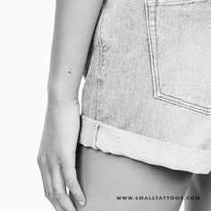 I Handwritten Letter Temporary Tattoo (Set of