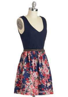 Right On Barbecue Dress, #ModCloth