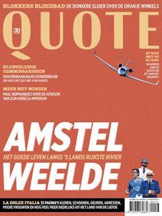 6x Quote € 45,: Het tijdschrift Quote bericht iedere maand over de…