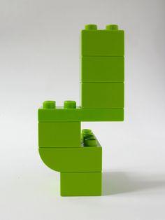 BRICK ART LIGHT GREEN - VUE 2