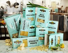 Packaging Casa Di Luca. Italian pasta #packaging #pasta