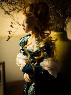 ''Beatrice'' Art doll Ooak by Romantic Wonders Art Dolls, Wonder Woman, Romantic, Superhero, Women, Romance Movies, Wonder Women, Romantic Things, Romance