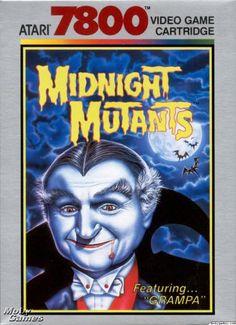 Midnight Mutants (Atari 7800) this game is so cray! Love it.