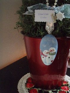 Laurie's Charming Designs: Hand Painted Snowman or Two