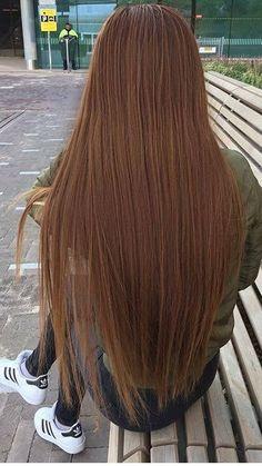 Beautiful Long Hair, Gorgeous Hair, Korean Short Hair, Colored Curly Hair, Long Dark Hair, Honey Hair, Silky Hair, Hair Highlights, Balayage Hair