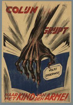 Colijn grijpt naar het kind van den arme! 1925