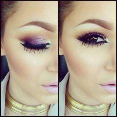 Love the cool tone color scheme . Are those bottom false lashes i see ? Looks good!