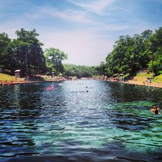 This three-acre pool is fed from underground springs and is, on average, 68 degrees year round. Barton Springs Pool attracts a diverse crowd—from children to legislators and everyone in between.