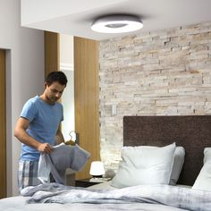 Philips Hue White Ambiance Still - Deckenleuchte 2400 lm inkl. Dimmschalter ... | PHILIPS Hue | 3261330P7 - click-licht.de #light #licht #leuchte #interieurdesign #interieur #lampe #dekoration #dekoideen #philips #philipshue #smarthome #smartlighting #led #interior #wohnzimmer #esszimmer #schlafzimmer #kueche #flur   #innenleuchten #beleuchtung #leuchte #light