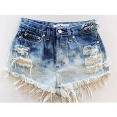 ombre high waisted shorts...can i please have these