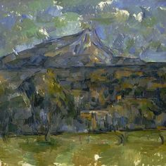 """Paul #Cézanne was born #onthisday in 1839. Fascinated with ""Mont Sainte-Victoire,"" he painted this work from 1902-1906. Referred to as ""the father of us…"""