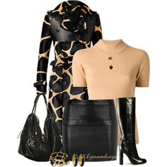 """""""Burberry Coat"""" by arjanadesign on Polyvore"""