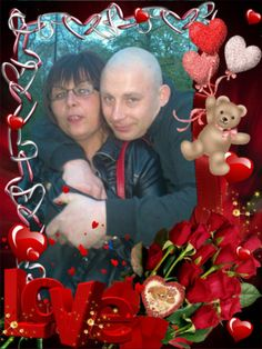 This photo was created by  using LOVE effect on PhotoMania