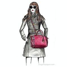 #Buongiorno a voi! Indecise sul modello di #borsetta da acquistare ? Nuovo post nel #blog! #illustration #illustrator #fashionillustration #fashionillustrator #fashiondraw #fashionskrtch #michaelkors #bags #sunglasses #glam #glamour #sketch #instaart #instafashion #accessories #giovannasitran www.theglampepper.com