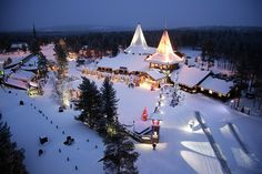 Best Place to visit for Christmas – Finaland, Lapland