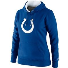 Nike Indianapolis Colts Ladies Tailgater Pullover Hoodie