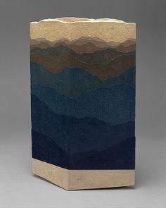 Zenji Miyashita; Glazed Stoneware Vase, c1990.